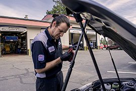 Mechanic at Work in Coeur d'Alene | Gallery | Silverlake Automotive Downtown