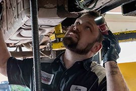 Technician at Work in Coeur d'Alene | Gallery | Silverlake Automotive Downtown